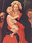 Jacopo Pontormo Madonna and Child with St. Joseph and Saint John the Baptist painting